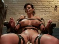 Phoenix Marie and Bobbi Starr in wonderful bdsm lesbian porn