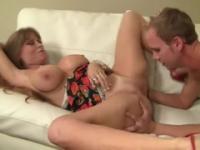 Milf Darla Crane with hot boobs in porn video
