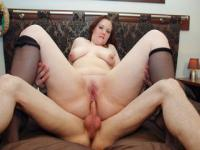 BBW Teenager With Big Tits and a Big Ass Gets Fucked Properly
