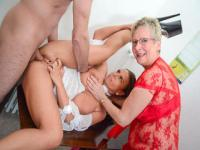 Diether Von Stein, Angelika J. and Sexy Susi in a FFM game