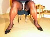 TGirl Living Room Upskirt 319