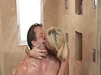 Seductive mama loves himself horny and wet