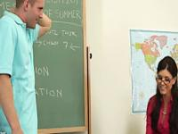 Schüler von seinem Lehrer Indien Sommer gefickt