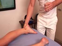 Facial for mia lelani by her masseur