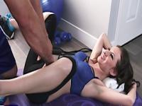 Athletic kendra khaleesi works out on a cock