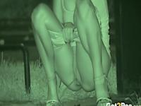 Sexy girls pissing in public compilation