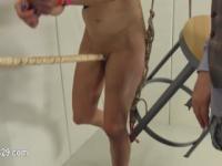 Zu viel Seil und fließend BDSM devote Sex