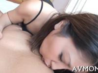 moaning asian milf with dildo pampers her fat pussy making it wet