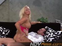 Jena-schöne Blondine ficken und Sperma auf den Arsch