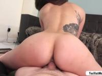 Super hot tattooed babe Eden Sinclair has a hardcore anal skill