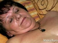 Granny Gets A Massage From Her Nurse