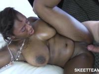 Chubby Ebony Camilla