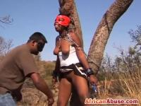 Kinky BDSM  Games With African Sex Slave