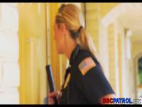 Hotel-Büste von weiblichen Polizisten
