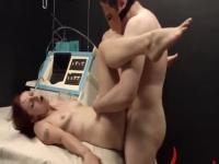 Gran parte de la cuerda y extreme BDSM sumisa copular