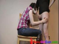 Süße junge Paar beim Sex - Spicygirlcam