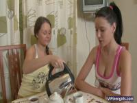 Russian Teens Have A Hot Therapeutic Massage