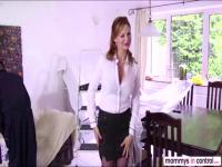 Amazing babe Leyla fucks guy by the guidance of her milf Tarra