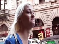 Mofos - Skinny blonde euro babe gets picked up