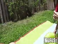 Mofos - Slip and slide, with two great booties