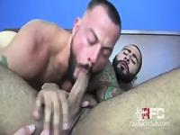 Muscle dudes fuck raw
