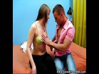Casual Teen Sex - Creampied on a first date