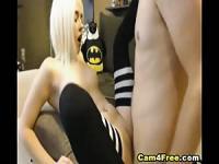 Horny Blonde Babe Fucked by her Ex Boyfriend