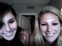 Two INSANE hot teen girls exposing