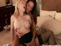 Lesbians love licking pussy