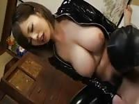 Hairy pussy busty Asian
