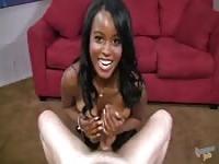 Big boobs Melinda loving and fucking white cocks