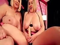 Fat blonde lesbians