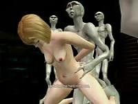 Alien hentai bondage