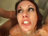 Taylor Rain knows how to get to a facial