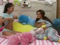 Hot Teens give babysitter a blowjob.F70