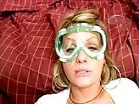 Hot Rikki's cum goggles