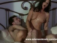 Dallas XXX parody with India Summer and James Deen