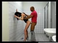 Amateur Shemale Fucking Public Toilet