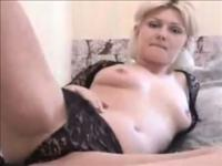 Blond Whore Plays With Herself