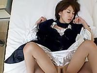 Amazing fucking of a tight and hariry asian pussy