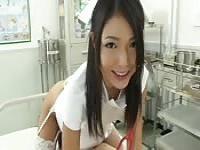 Beautiful Japanese nurse