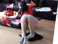 Mofos - Taylor Pink forgot to put on her panties