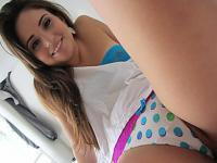 Super cute latina babe Cara Swank