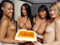 Acción Orgias con sus amigos de Anissa Kate y jazmín negro