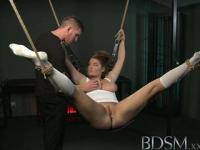 BDSM XXX Beautiful sub does not know when to shut up and pays the price from dominant Master