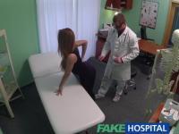 FakeHospital Doctor creampies estudiante atlético caliente con cuerpo increible