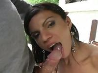 Tranny Fucked On The Balcony - Brasil