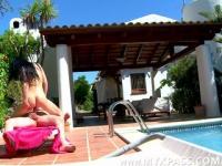 Sunbath, massage and sex