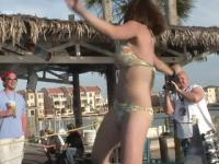 Spring Break Tiny Bikini Dancing Contest - DreamGirls