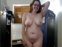 Hot Busty Blonde auf Webcam - Negrofloripa